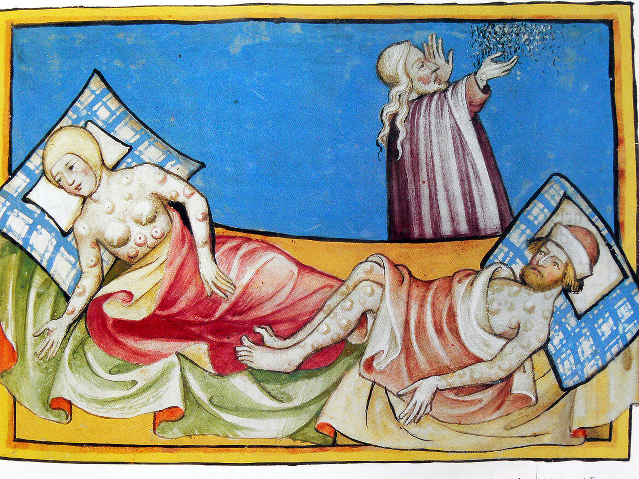 the genesis history and effects of the bubonic plague