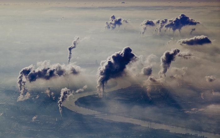 Европейский спутник начал следить за загрязнением воздуха