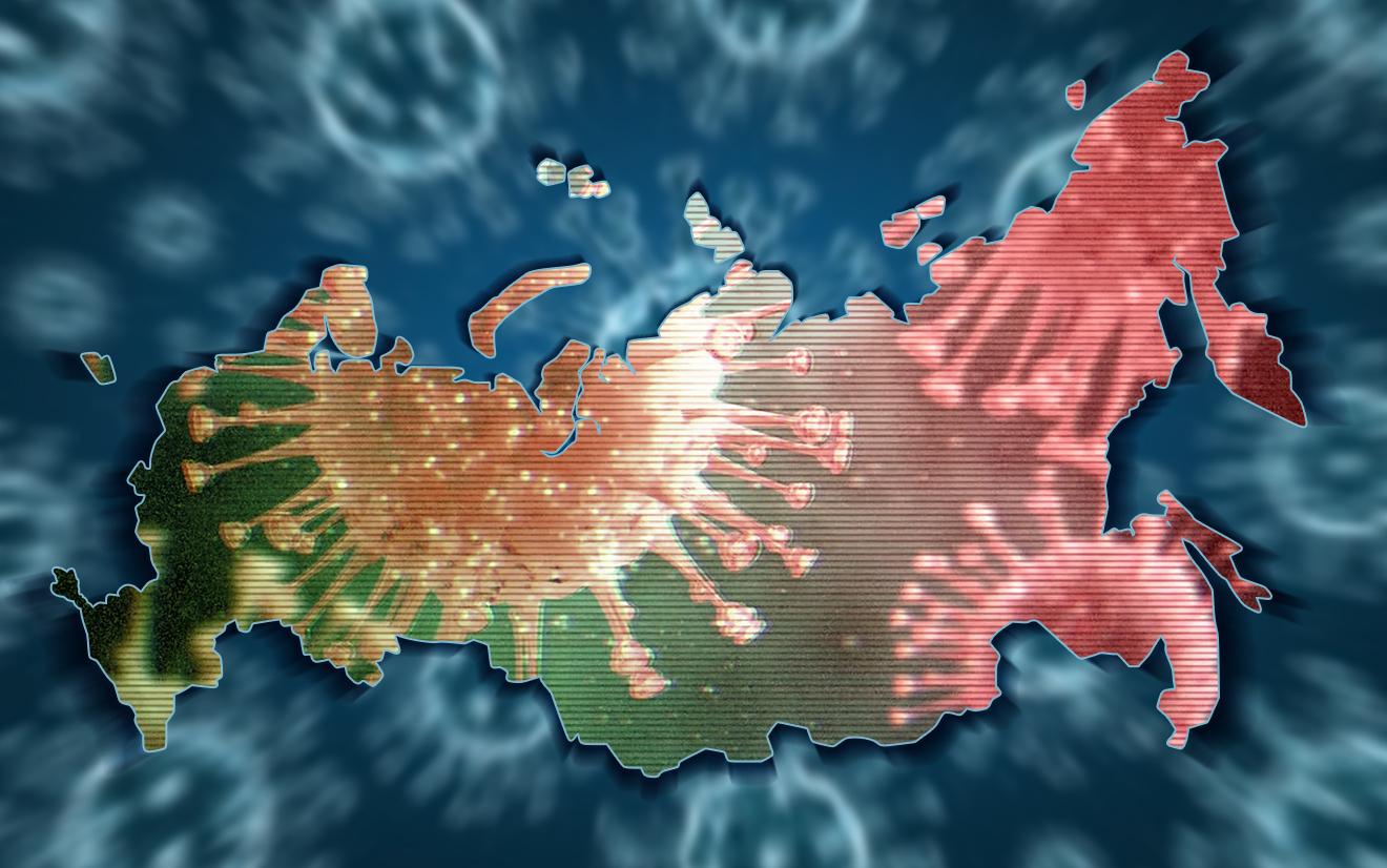 В России выявлено более 350 тысяч зараженных COVID-19