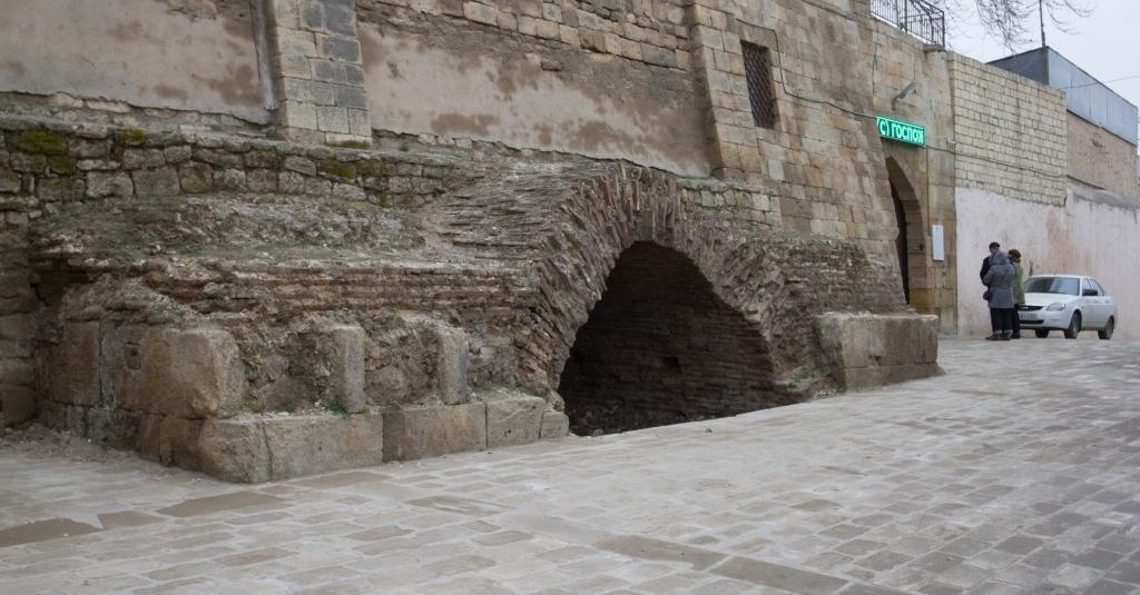 Российские древности: Джума-мечеть в Дербенте