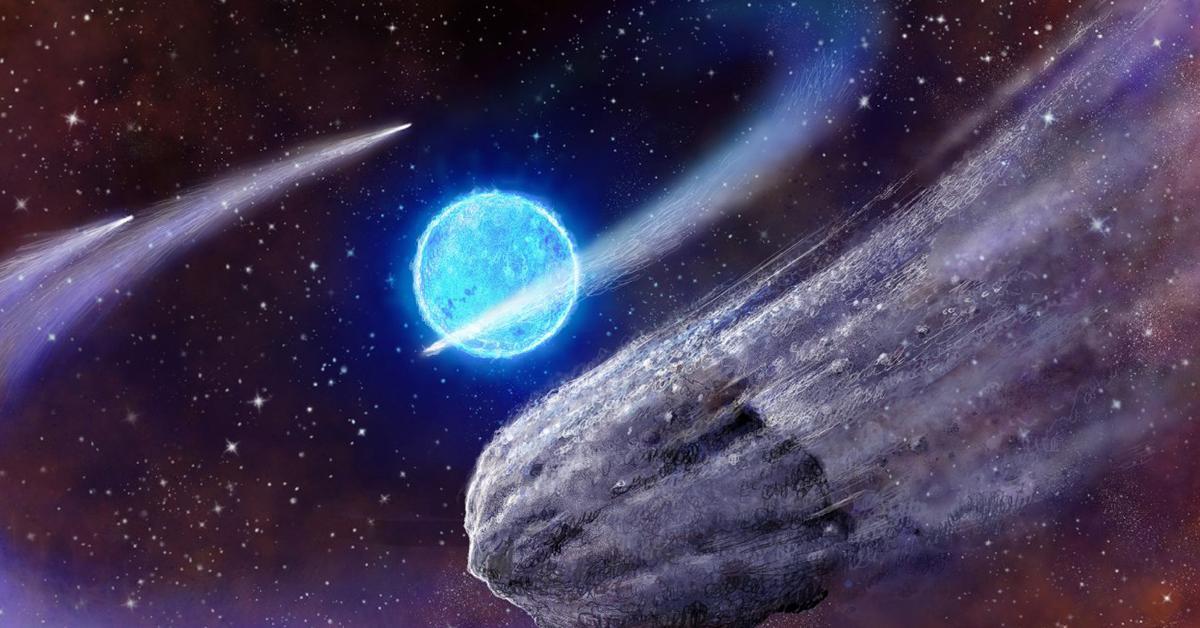 вселенная с кометами картинки том, что будет