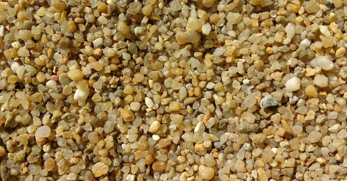 зернистость кварцевого песка