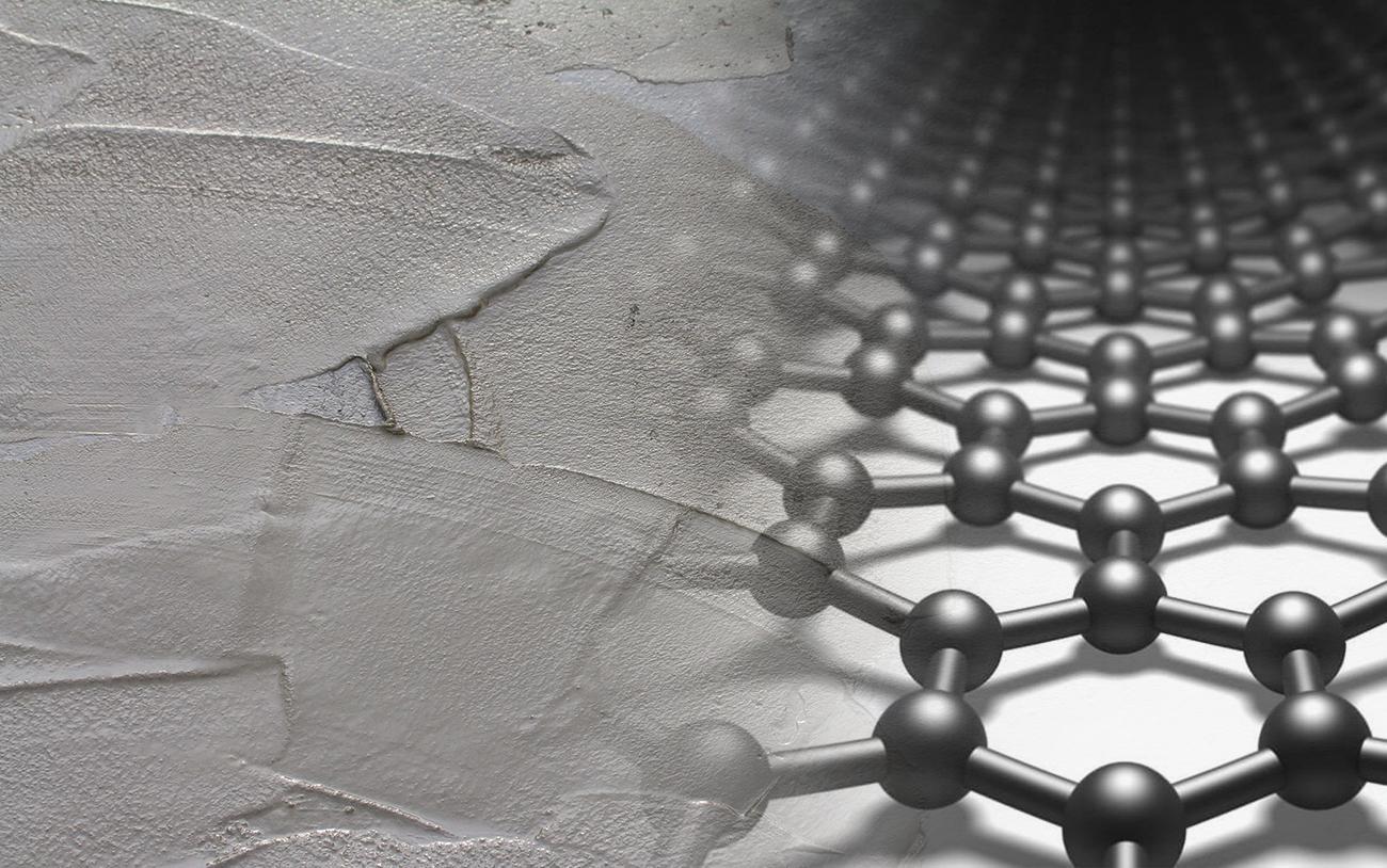 графен в бетоне